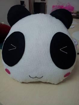 Handmade Cute Baby Panda Face Boar Cub Pet Pillow
