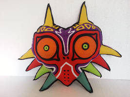 Handmade Legend of Zelda Majora's Mask Pillow by RbitencourtUSA