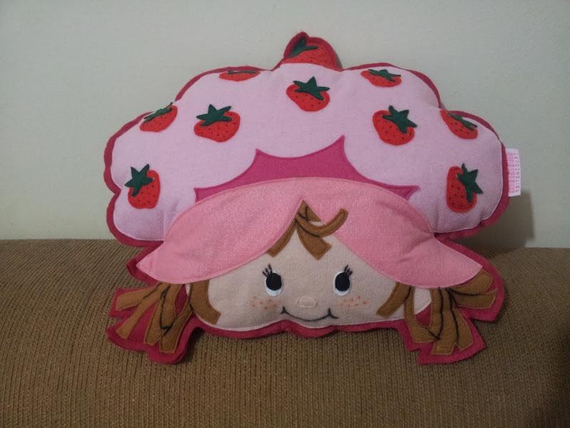 Cute Handmade Pillow Covers : Handmade Cute Strawberry Shortcake Cartoon Pillow by RbitencourtUSA on DeviantArt