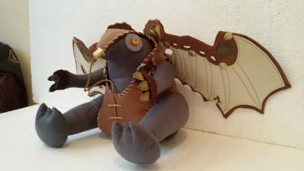Handmade Bioshock Game Songbird Plush Pillow by RbitencourtUSA