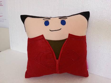 Handmade Clark Kent Smallville Superman Pillow