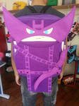 Handmade Marvel Superhero Hawkeye Backpack by RbitencourtUSA