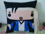 Handmade Japanese Japan Samurai Kotaru-san Pillow by RbitencourtUSA