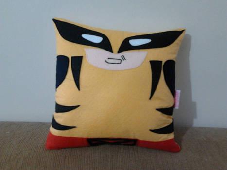 Handmade Classic Wolverine X-Men Pillow