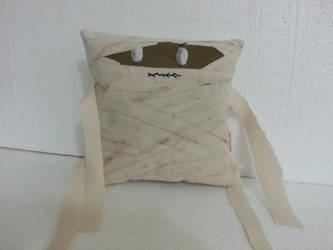 Handmade Classic Movie Monster The Mummy Pillow by RbitencourtUSA