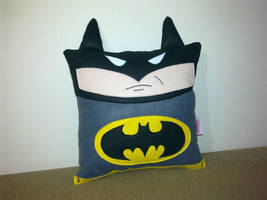 Handmade Classic Batman Marvel DC Comics Pillow by RbitencourtUSA