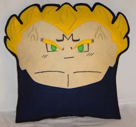 Handmade Dragon Ball Z Majin Vegeta v1.43 Pillow