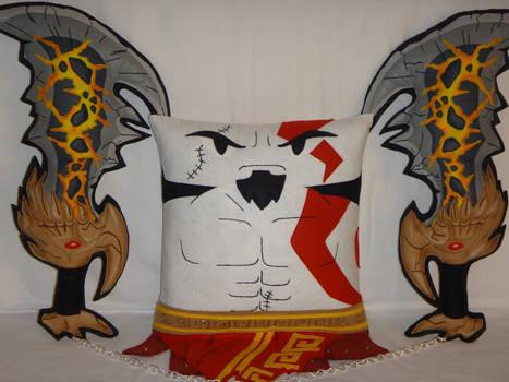 Handmade God of War Kratos v1.43 with Chaos Blades
