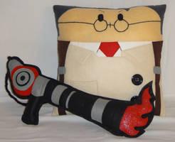 Handmade Team Fortress 2 RED Medic v1.43 Pillow