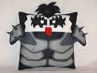 Handmade KISS Band Gene Simmons v1.43 Pillow by RbitencourtUSA