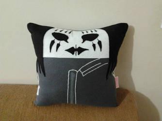Handmade Slipknot Band Joey Jordison Pillow by RbitencourtUSA