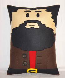 Handmade Harry Potter Rubeus Hagrid v1.43 Pillow by RbitencourtUSA
