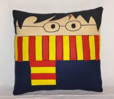Handmade Harry Potter Gryffindor v1.43 Pillow
