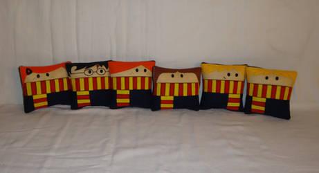 Handmade Harry Potter Mini v1.43 Pillow Set by RbitencourtUSA