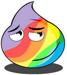 Rainbow Slime by Evil-Genius-Prime