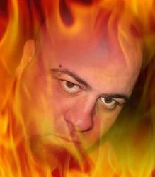 Burning in Hell by Evil-Genius-Prime