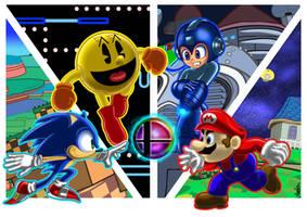 Mascot Battle! by MisterMikus