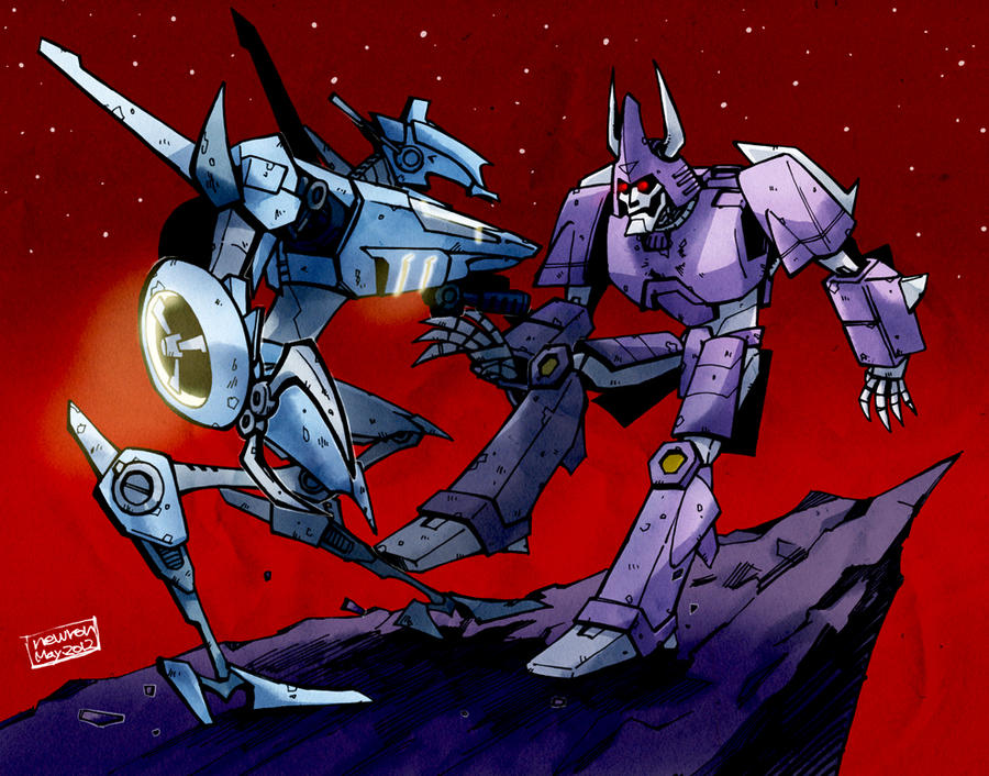 Cyclonus vs. Whirl 2