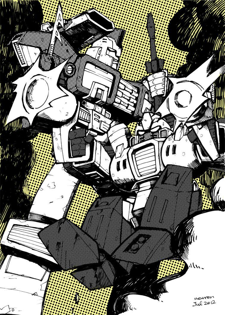 Impactor and Guzzle by n-e-w-r-o-n
