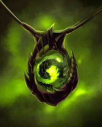 Amulet of zerg by Saltamor