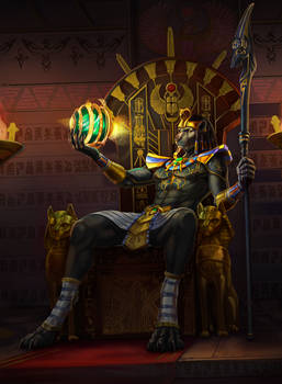 Horus peers past lives