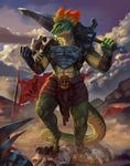 Reshik, Lizardman Shaman