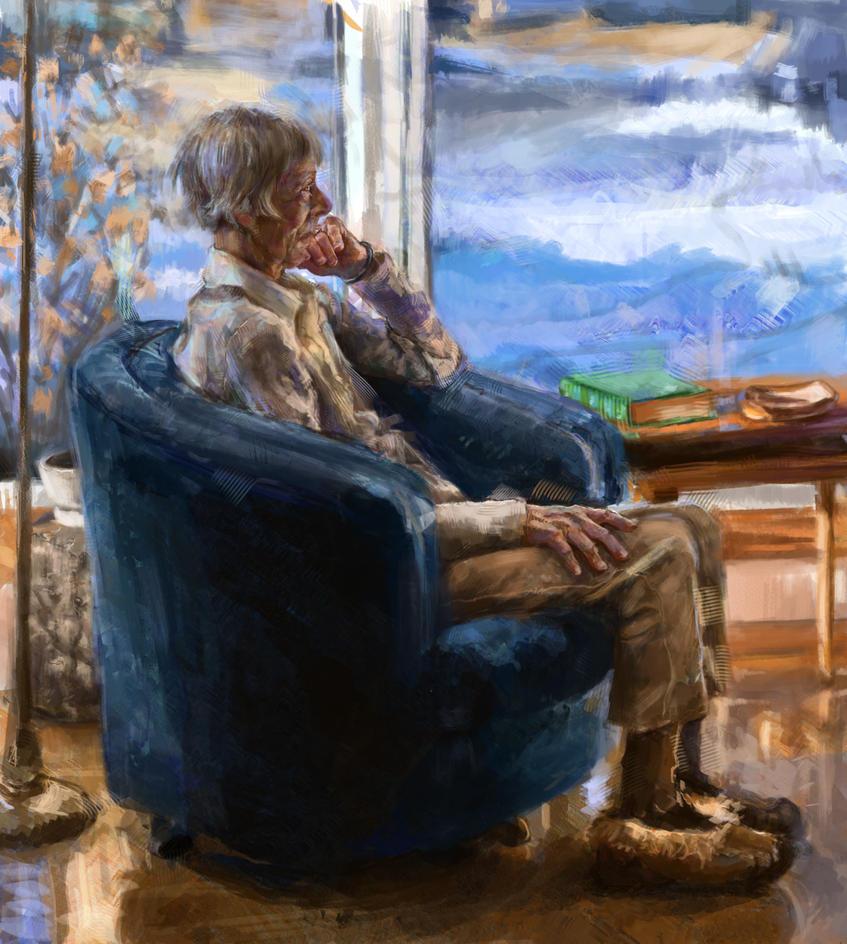 Portrait of Jean by BitterOblivion