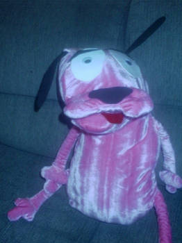Courage the Cowardly Dog Toy