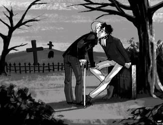 Sherlock: Cemetery by Lascaux
