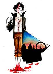 Sherlock: Bloody Feet by Lascaux