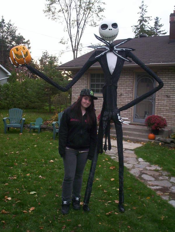 Life size jack skellington 2 by casuarinax on deviantart - Jack skellington decorations halloween ...