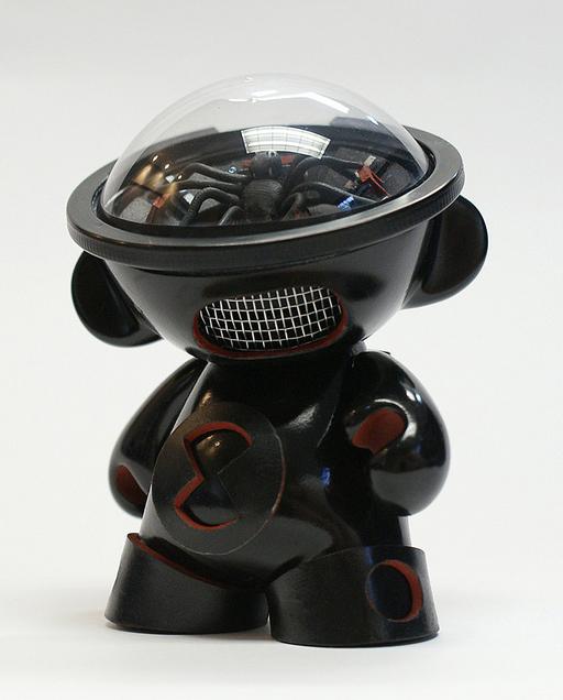 Black Widow Munny by gorgocho