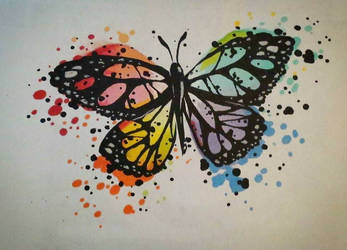 Butterfly by Damianne-Violet