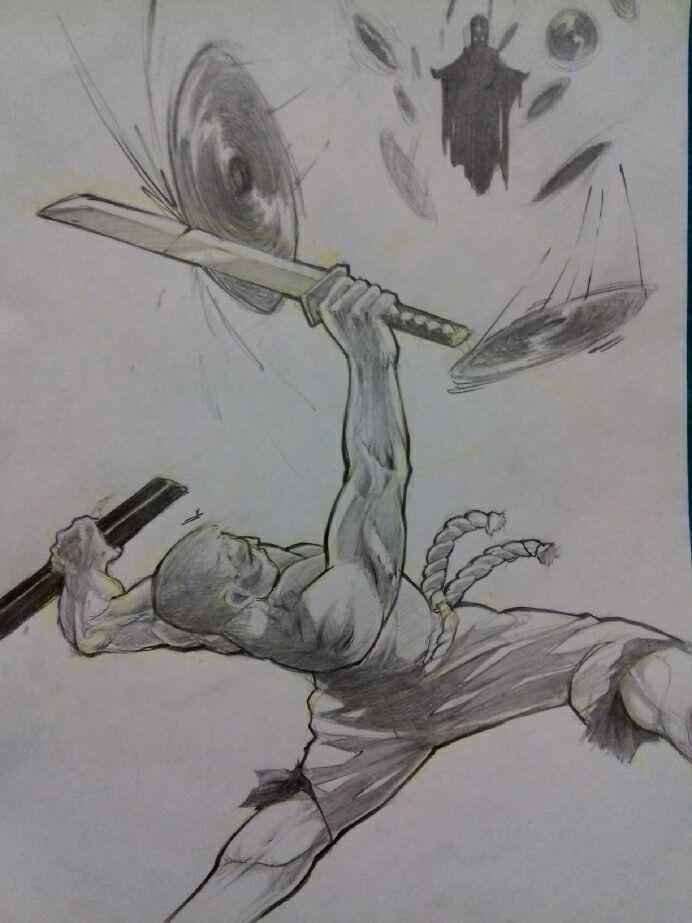 pencil sketch by lossairredhead
