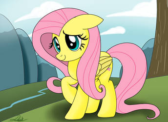 just being fluttershy