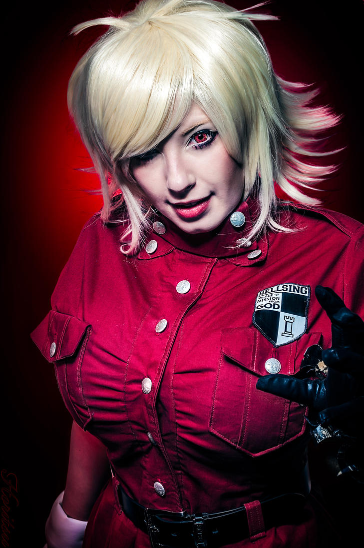 Seras Victoria 'Blood Rage' by Horitsu on DeviantArt