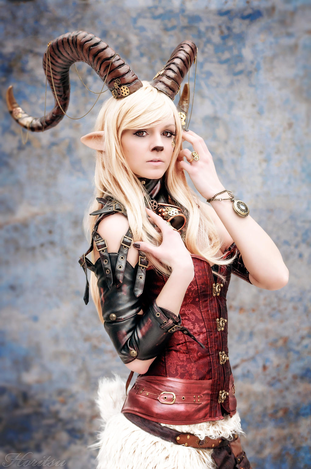 Dark Faun Cosplay – Scribe Of Tales |Faun Cosplay