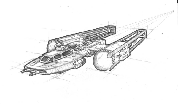 X Wing Line Drawing : Y wing fighter recon by brothersdude on deviantart