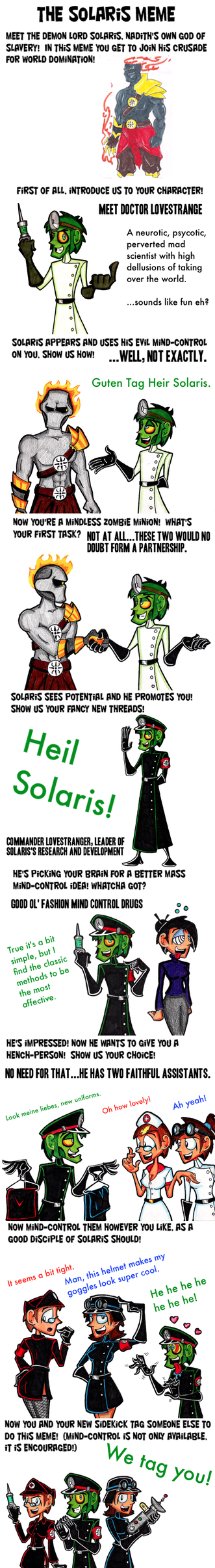 The Solaris Meme by brothersdude