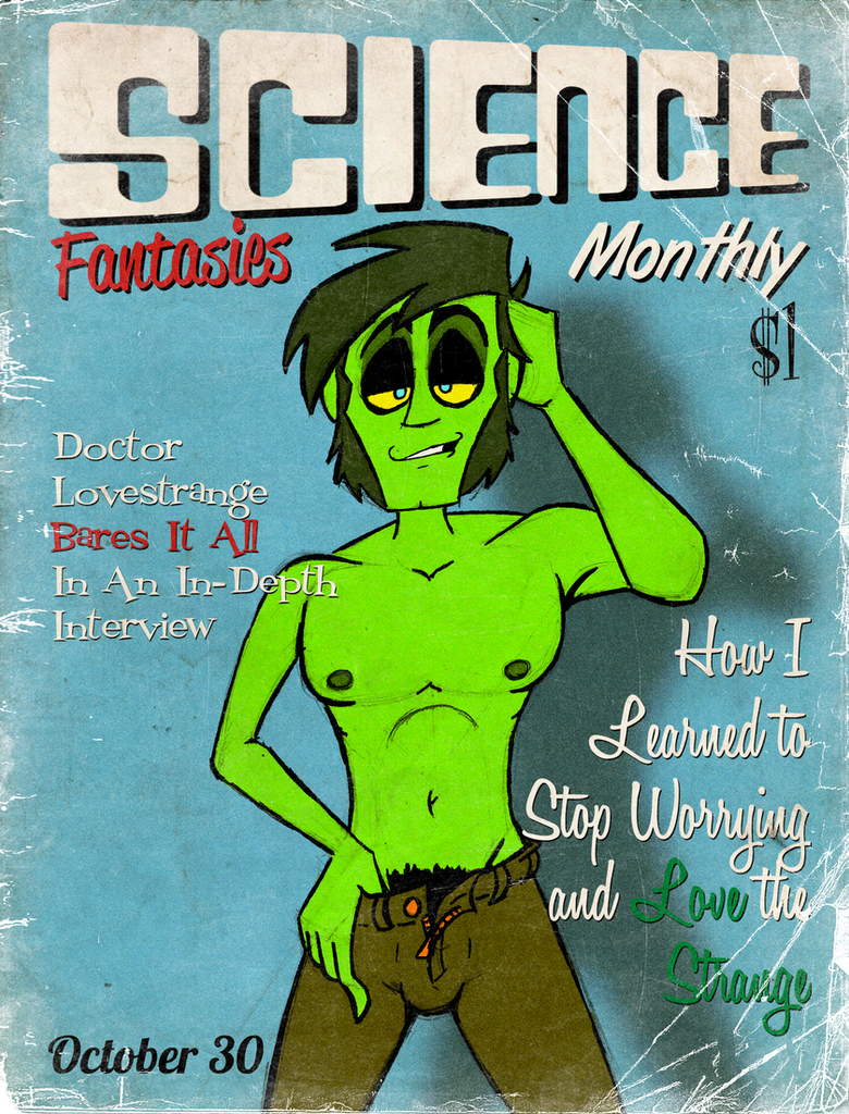 Science Fantasies Monthly 3rd Edition by brothersdude