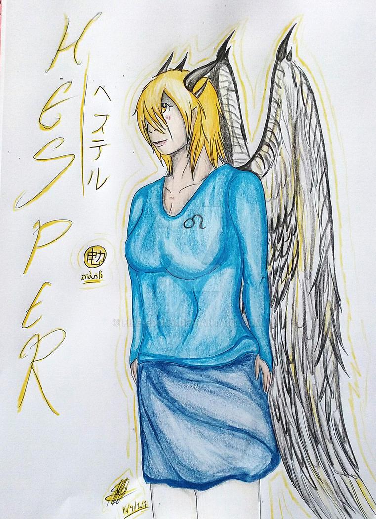 Electric angel by Fire-Ebony