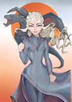 Mother of Dragons  by Alik-Melnikov