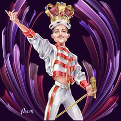 Freddie Mercury  by Alik-Melnikov