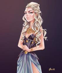 Daenerys by Alik-Melnikov