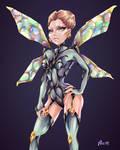 Wasp Queen  by Alik-Melnikov