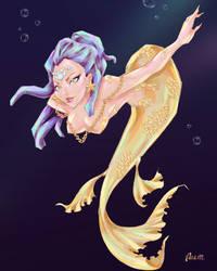Curious Golden fish