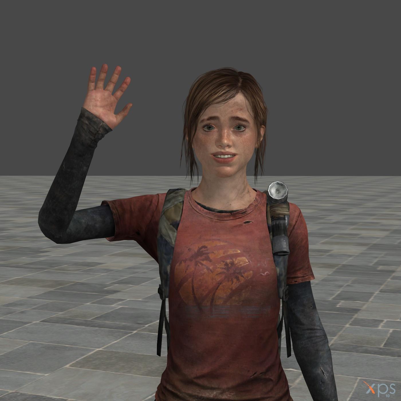 Ellie The Last Of Us Original By Junkymana