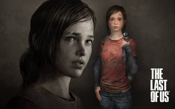 The Last Of Us - Ellie (re-rigged body)