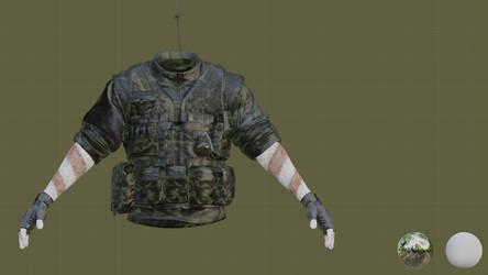 SOTTR - Oil corps militia - WIP