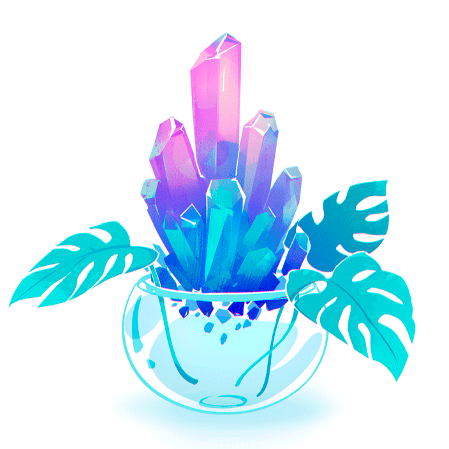 Vase with flying crystals gif by visualkid n on deviantart reviewsmspy